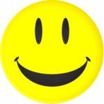 Utilisateur heureux smiley