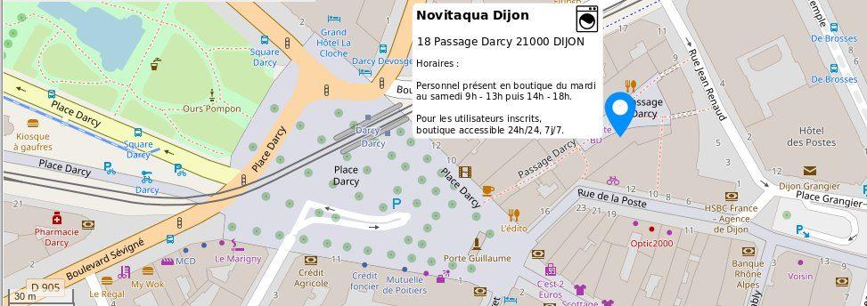 Novitaqua - 18 passage Darcy 21000 Dijon